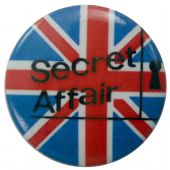 Secret Affair - 'UK Flag' Button Badge